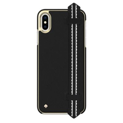 Kate Spade iPhoneXSMax ケース kate spade new york Wrap Strap Case for iPhone