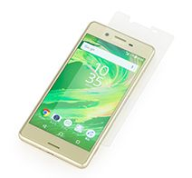SoftBank SELECTION 衝撃吸収 高光沢保護フィルム for Xperia™ X Performance