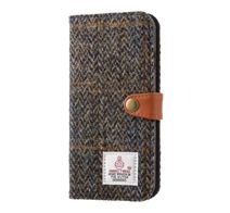 SoftBank SELECTION RILEGA Harris Tweed Flip for iPhone 7