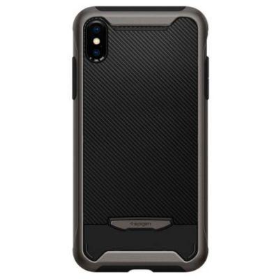 Spigen iPhoneXSMax ケース 耐衝撃 Hybrid NX