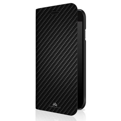 Black Rock iPhone SE(第2世代)/8/7/6s/6 Flex Carbon Booklet