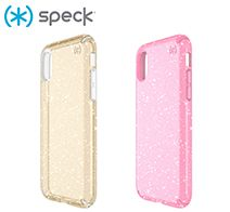 Speck Presidio Clear + Glitter for iPhone XS / X