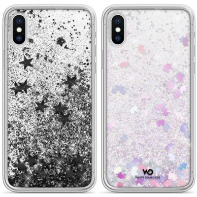 White Diamonds iPhoneXS iPhoneX ケース 耐衝撃 Sperkle Case