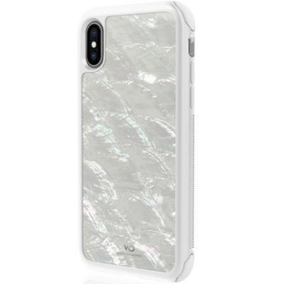White Diamonds iPhoneXS iPhoneX ケース Tough Pearl Case