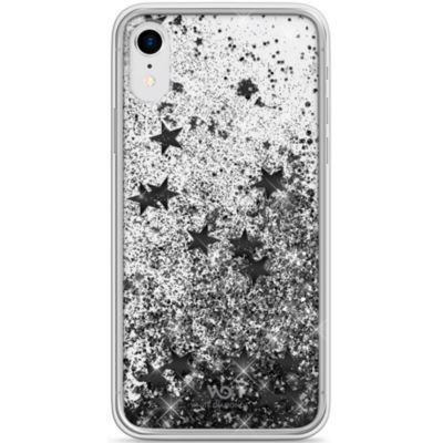White Diamonds iPhoneXR ケース 耐衝撃 Sperkle Case