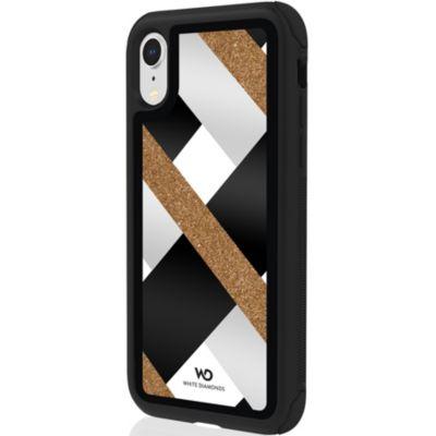 White Diamonds iPhoneXR ケース 耐衝撃 Tough Luxe Case