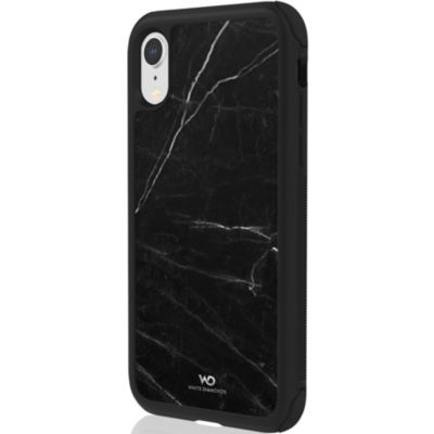 White Diamonds iPhoneXR ケース 耐衝撃 Tough Marble Case