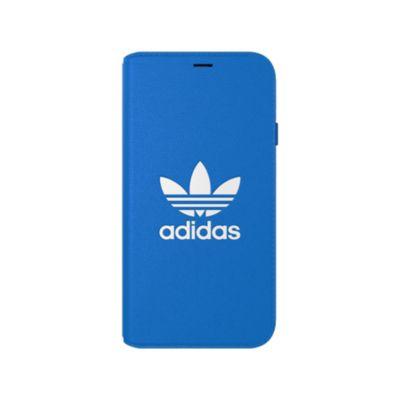 adidas iPhoneXS ケース 手帳型 OR Booklet Case CLASSICS TREFOIL FW18