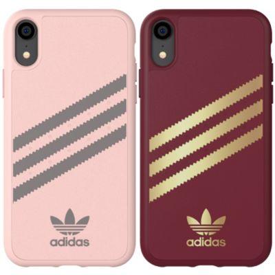 adidas iPhoneXR ケース  OR GAZELLE MouldedCase PU SUEDE FW18