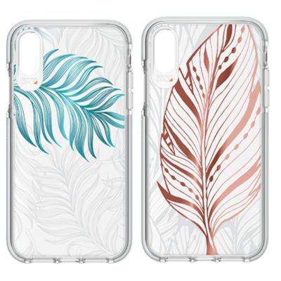 アウトレット iPhone XR Gear 4 Victoria Tribal Leaf