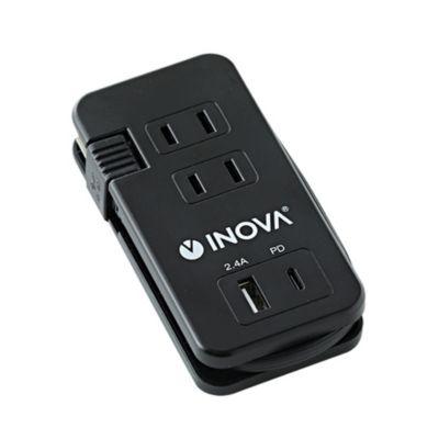 INOVA 2ポート USB付き TypeC 3AC 電源タップ Smacube TAPPD スマキューブ タップ ピーディ