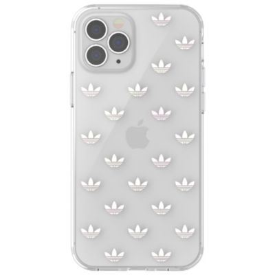 adidas iPhone12Pro/adidas OR Snap Case ENTRY FW20 クリア シルバー