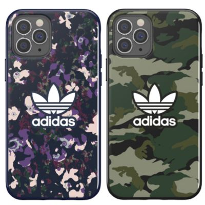 adidas iPhone12Pro/adidas OR Snap Case Graphic AOP FW20 パープル