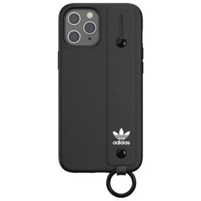 adidas iPhone12ProMax adidas OR Hand Strap Case FW20 ブラック