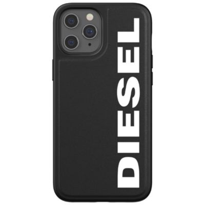 DIESEL iPhone12ProMax Diesel Moulded Case Core FW20 ブラック ホワイト