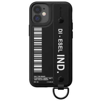 DIESEL iPhone12mini Diesel Handstrap Case FW20 ブラック