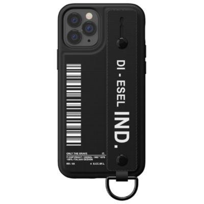 DIESEL iPhone12Pro/DIESEL Handstrap Case FW20 ブラック