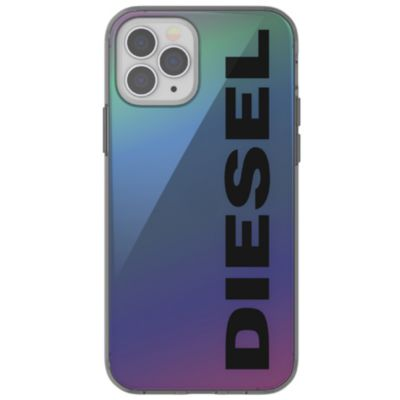 DIESEL iPhone12Pro/DIESEL Snap Case Clear FW20 クリア ブルー