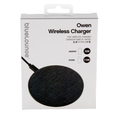 Bluelounge Owen Wireless Charger Charcoal