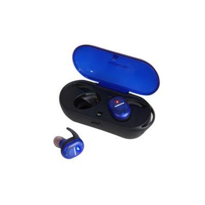 NAGAOKA Bluetooth5.0対応 オートペアリング機能搭載 スケルトン完全ワイヤレスイヤホン