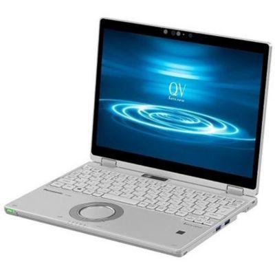 パナソニック CF-QV8FDGQR シルバー QV8シリーズ ノートパソコン 12.0型液晶 Let's note