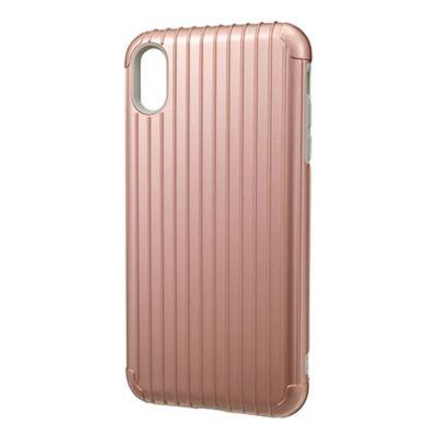 GRAMAS iPhoneXSMax ケース 耐衝撃 Rib Hybrid Shell case
