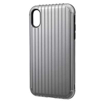 GRAMAS iPhoneXR ケース 耐衝撃 Rib Hybrid Shell case