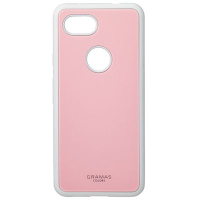 GRAMAS  Glassty Glass Hybrid Shell Case for Pixel 3a