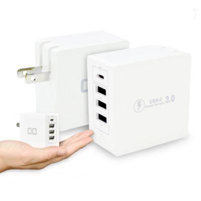 CIO 4ポートアダプタ 急速充電器 PD版 Typ-c USB CIO-KJ-PD3