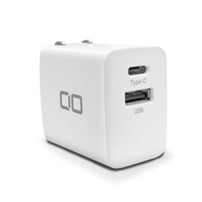 CIO シーアイオー PD20W&QC対応2ポート充電器