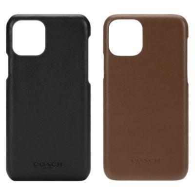 COACH iPhone11Pro LEATHER SLIM WRAP CASE