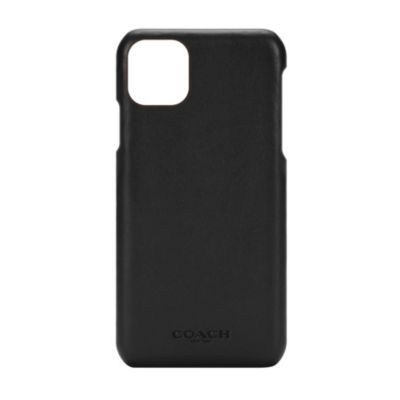 COACH iPhone11ProMax LEATHER SLIM WRAP CASE