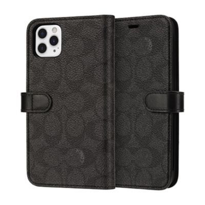 COACH iPhone11ProMax WALLET CASE SIGNATURE C