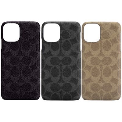 COACH iPhone12mini Slim Wrap Case - Signature C