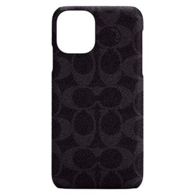 COACH iPhone12mini Slim Wrap Case - Signature C