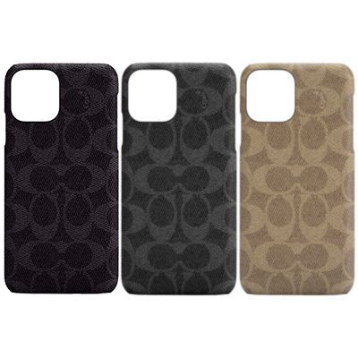 COACH iPhone12Pro/iPhone12 Slim Wrap Case - Signature C