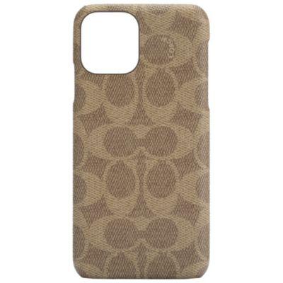 COACH iPhone12Pro/iPhone12 Slim Wrap Case - Signature C