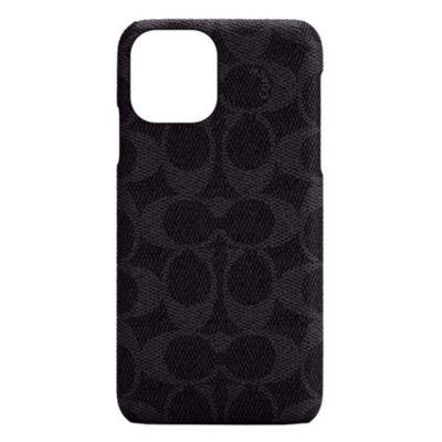COACH iPhone12ProMax Slim Wrap Case - Signature C