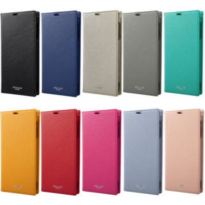 GRAMAS COLORS EURO Passione Book PU Leather Case for AQUOS R2