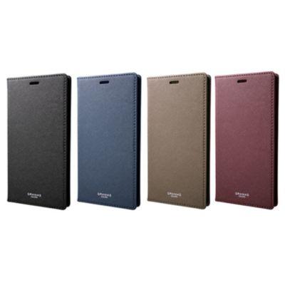 GRAMAS iPhoneXSMax ケース 手帳型 レザー EURO Passione PU Leather Book Case