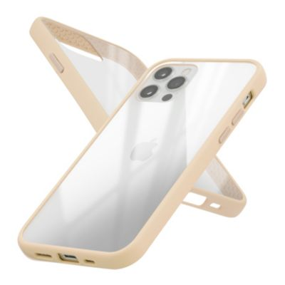 Campino Anti-shock Slim Case for iPhone 12 Pro / iPhone 12 クリア ベージュ
