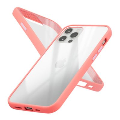 Campino Anti-shock Slim Case for iPhone 12 Pro / iPhone 12 クリア ピンク