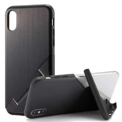 アウトレット 数量限定品 campino OLE stand Hairline for iPhoneXS iPhoneX