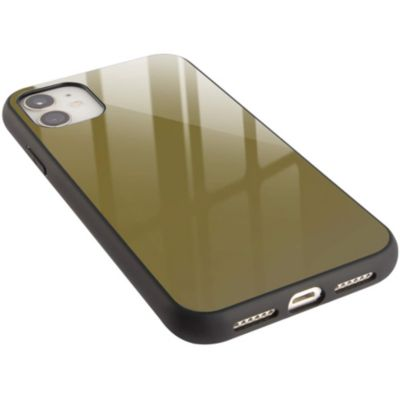 *campino カラーガラスケース for iPhone 11