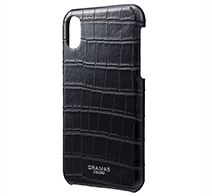 GRAMAS EURO Passione Croco Shell PU Leather Case for iPhone X