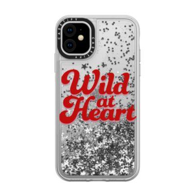 casetify iPhone11 Glitter Case