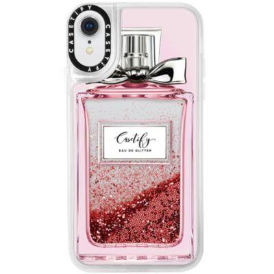 Casetify iPhoneXR ケース  Glitter Case FEMME EAU DE GLITTER No.4514839