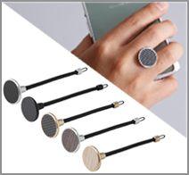 Deff Finger Trumpet Style Strap Aluminum/Carbon
