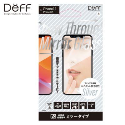Deff iPhone 11 / XR Show Through Mirror Glass