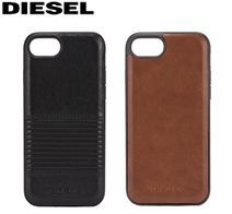 アウトレット iPhone 7/8 CO-MOLDED INLAY -Black Lined Leather DIPH-002-BLKLL